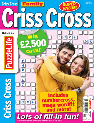 Family Criss Cross Issue 301
