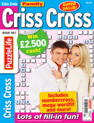 Family Criss Cross Issue 307