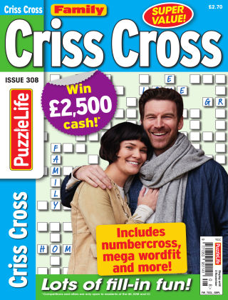 Family Criss Cross Issue 308