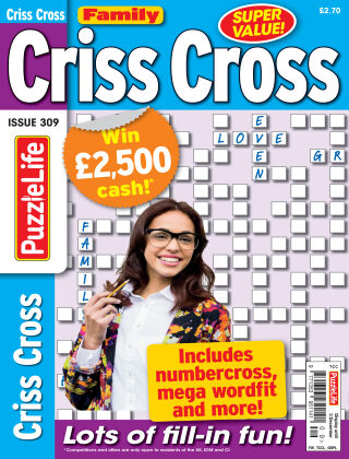 Family Criss Cross Issue 309