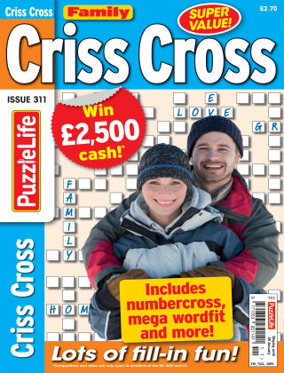 Family Criss Cross Issue 311