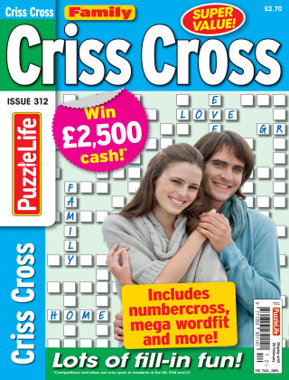 Family Criss Cross Issue 312