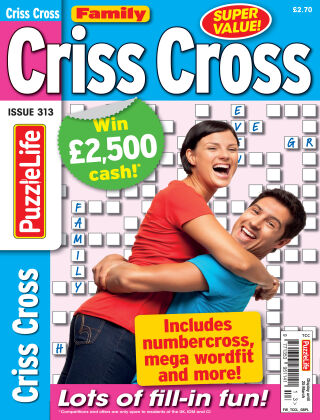 Family Criss Cross Issue 313