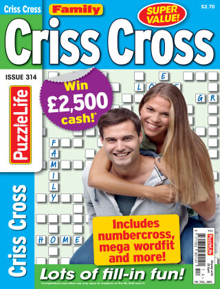 Family Criss Cross Issue 314