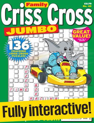 Family Criss Cross Jumbo Issue 040