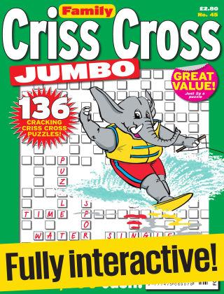 Family Criss Cross Jumbo Issue 045