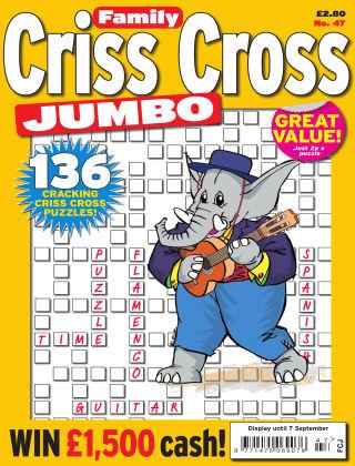 Family Criss Cross Jumbo Issue 047