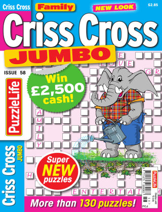 Family Criss Cross Jumbo Issue 058