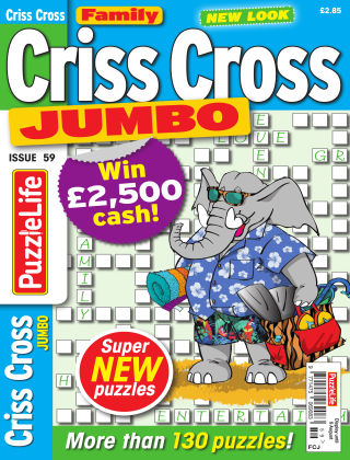 Family Criss Cross Jumbo Issue 059
