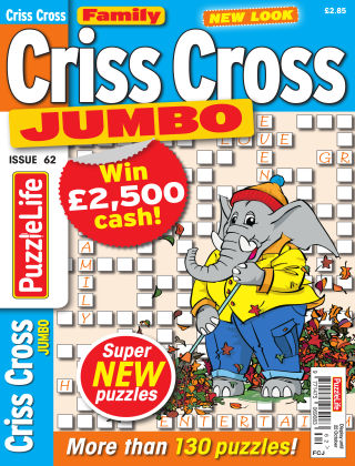Family Criss Cross Jumbo Issue 062
