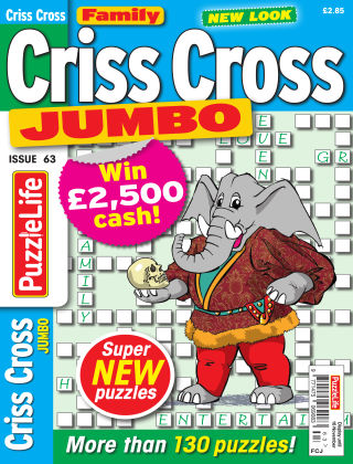 Family Criss Cross Jumbo Issue 063