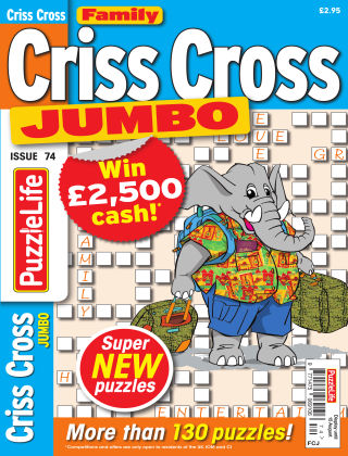 Family Criss Cross Jumbo Issue 074