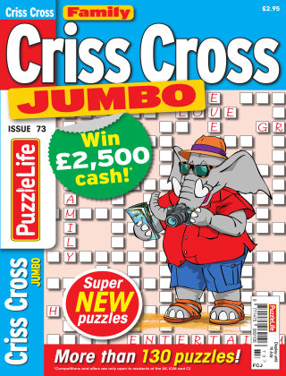 Family Criss Cross Jumbo Issue 073