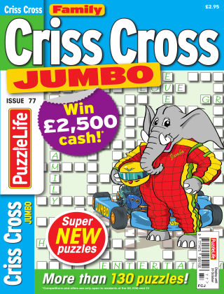Family Criss Cross Jumbo Issue 077