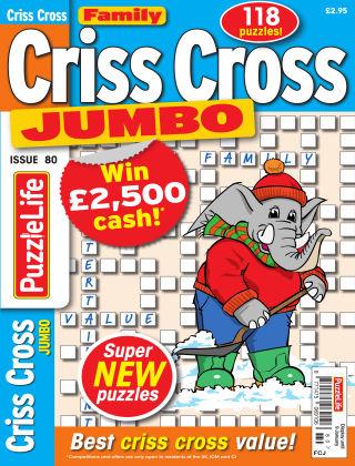 Family Criss Cross Jumbo Issue 080