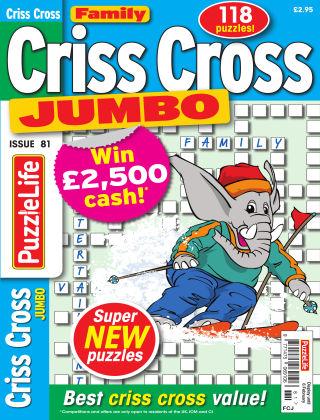 Family Criss Cross Jumbo Issue 081