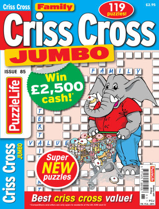Family Criss Cross Jumbo Issue 085