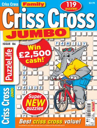 Family Criss Cross Jumbo Issue 086