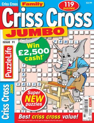 Family Criss Cross Jumbo Issue 091