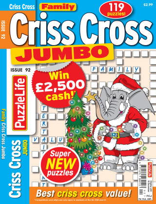 Family Criss Cross Jumbo Issue 092