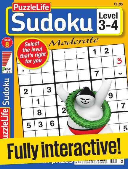 PuzzleLife Sudoku Moderate 3-4 February 02, 2017 00:00