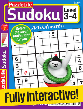 PuzzleLife Sudoku Moderate 3-4 Issue 007