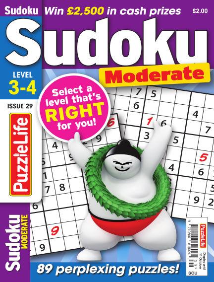 PuzzleLife Sudoku Moderate 3-4 September 13, 2018 00:00