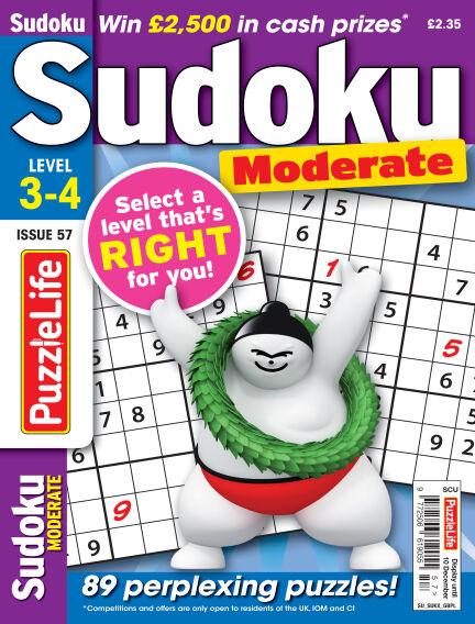 PuzzleLife Sudoku Moderate 3-4