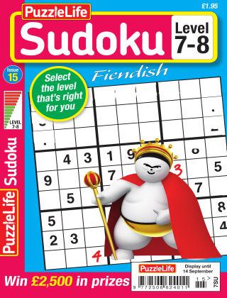 PuzzleLife Sudoku Fiendish 7-8 Issue 15