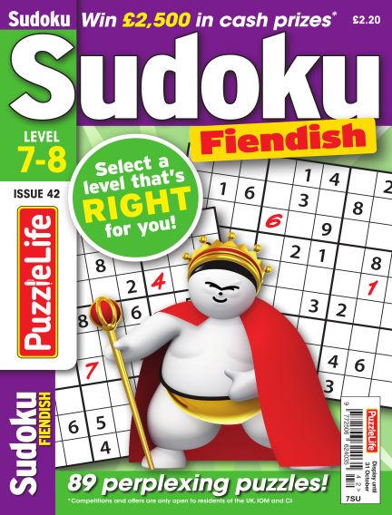 PuzzleLife Sudoku Fiendish 7-8 October 03, 2019 00:00