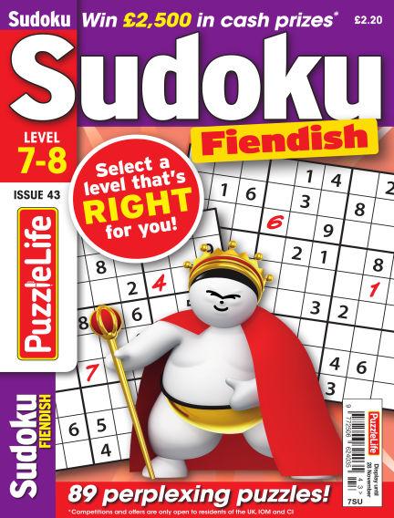 PuzzleLife Sudoku Fiendish 7-8 October 31, 2019 00:00