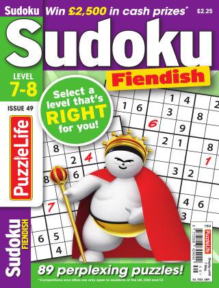 PuzzleLife Sudoku Fiendish 7-8 Issue 049