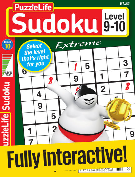 PuzzleLife Sudoku Extreme 9-10 March 30, 2017 00:00