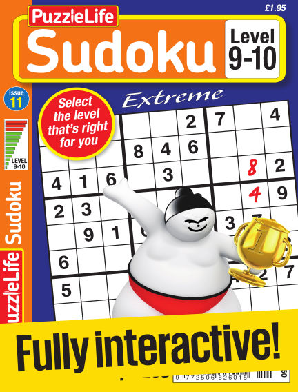 PuzzleLife Sudoku Extreme 9-10 April 27, 2017 00:00