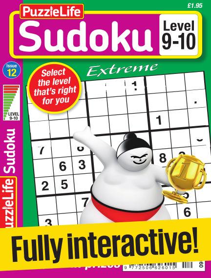 PuzzleLife Sudoku Extreme 9-10 May 25, 2017 00:00