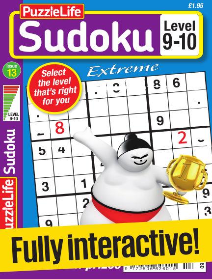 PuzzleLife Sudoku Extreme 9-10 June 22, 2017 00:00