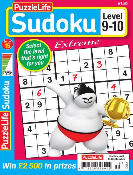 PuzzleLife Sudoku Extreme 9-10 August 17, 2017 00:00