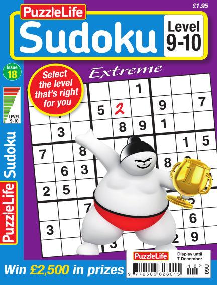 PuzzleLife Sudoku Extreme 9-10 November 09, 2017 00:00