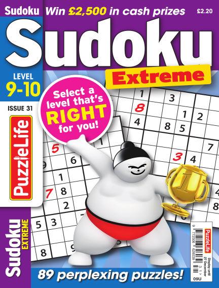 PuzzleLife Sudoku Extreme 9-10 November 08, 2018 00:00