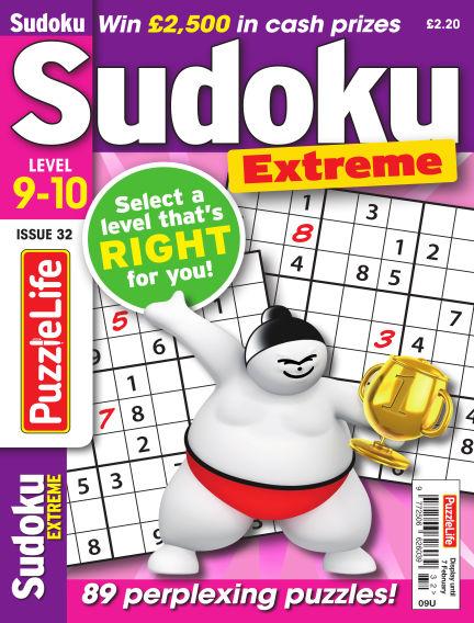 PuzzleLife Sudoku Extreme 9-10 December 06, 2018 00:00