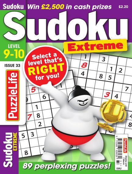 PuzzleLife Sudoku Extreme 9-10 February 07, 2019 00:00