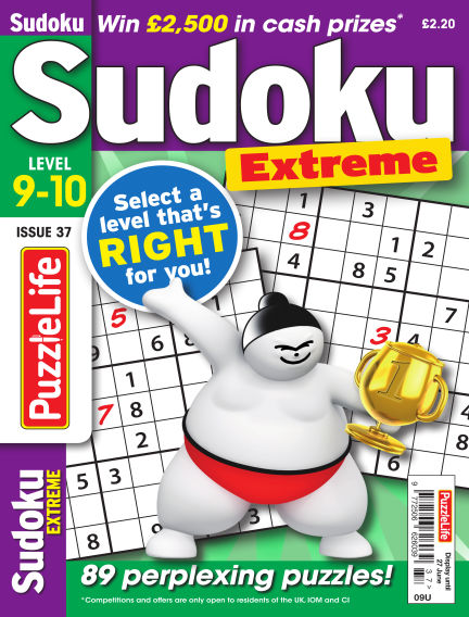 PuzzleLife Sudoku Extreme 9-10 May 30, 2019 00:00