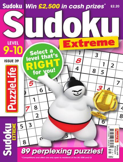 PuzzleLife Sudoku Extreme 9-10 July 25, 2019 00:00