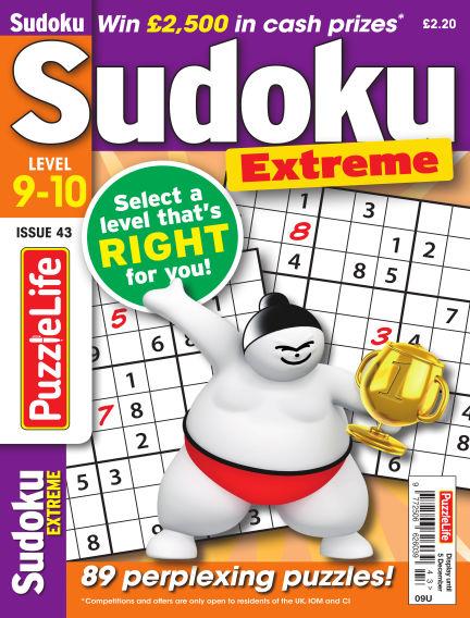 PuzzleLife Sudoku Extreme 9-10 November 14, 2019 00:00