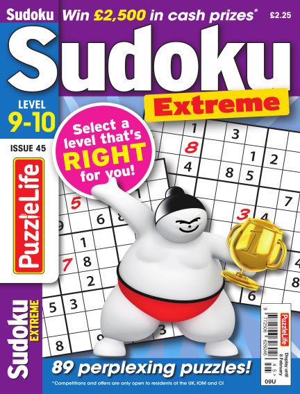 PuzzleLife Sudoku Extreme 9-10 January 09, 2020 00:00