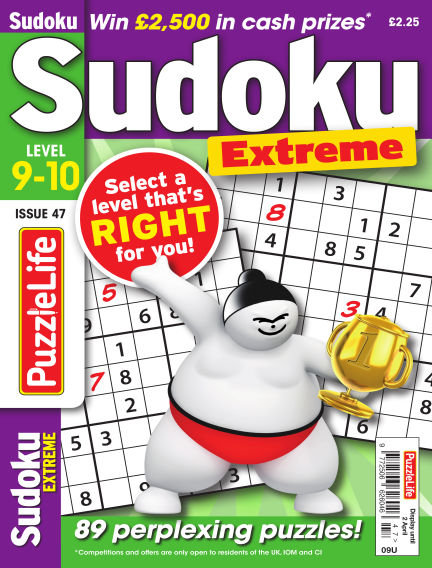 PuzzleLife Sudoku Extreme 9-10 March 05, 2020 00:00