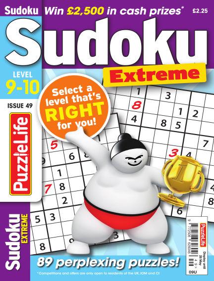 PuzzleLife Sudoku Extreme 9-10 April 30, 2020 00:00