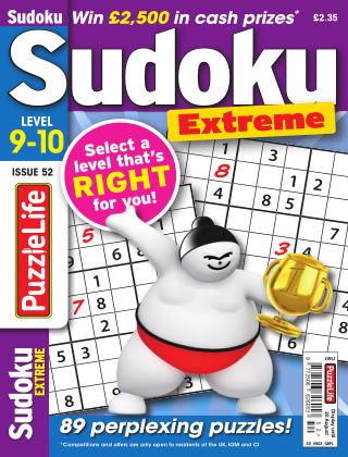 PuzzleLife Sudoku Extreme 9-10 Issue 052