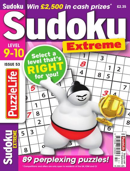 PuzzleLife Sudoku Extreme 9-10 August 20, 2020 00:00
