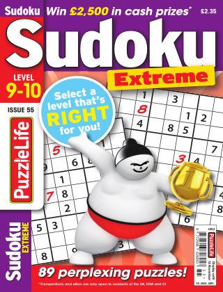 PuzzleLife Sudoku Extreme 9-10 Issue 055